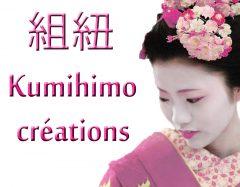 Plumes Bijoux Kumihimo
